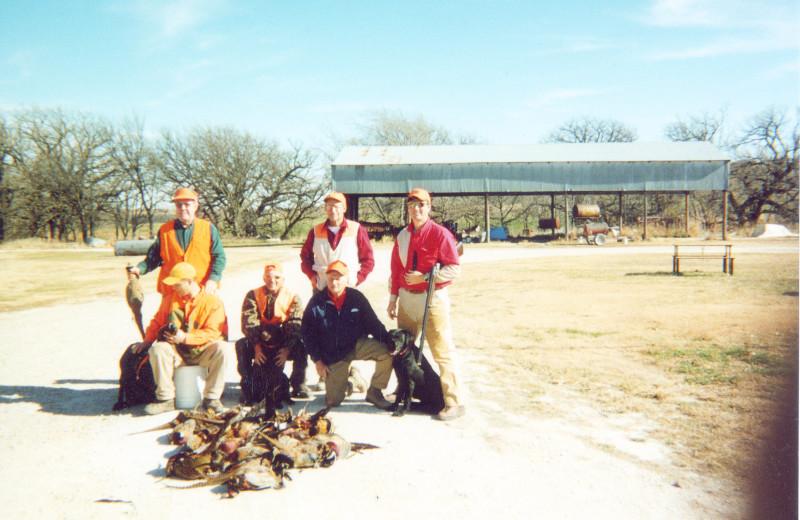 Hunting at Covert Creek Lodge.