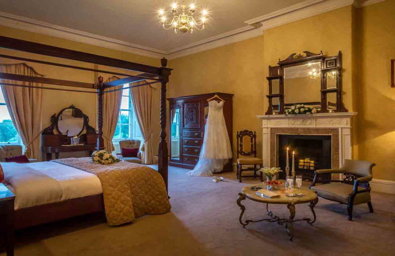 Bridal suite at Dundrum House Hotel Golf and Leisure Club.