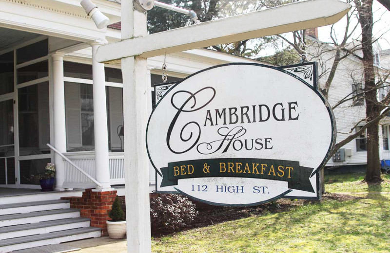 Exterior at Cambridge House Bed and Breakfast.