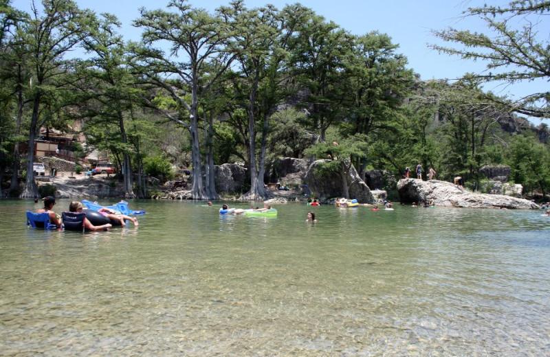 Frio River fun at Neal's Lodges.
