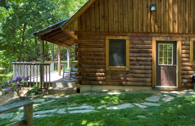 Cabin with outdoor pool at Rock Creek Cabins