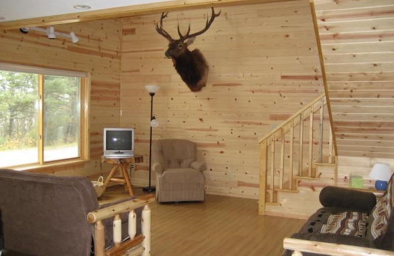 Cabin Interior at Pike Bay Lodge