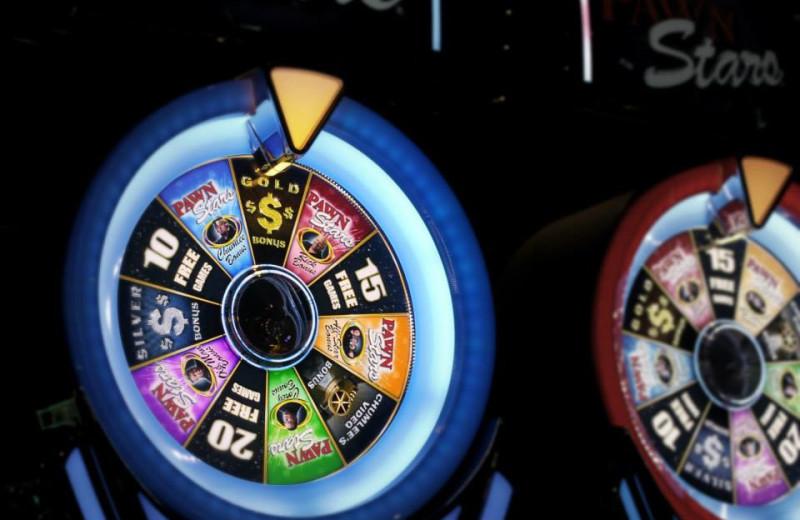 Slot machine at Rocky Gap Casino Resort.