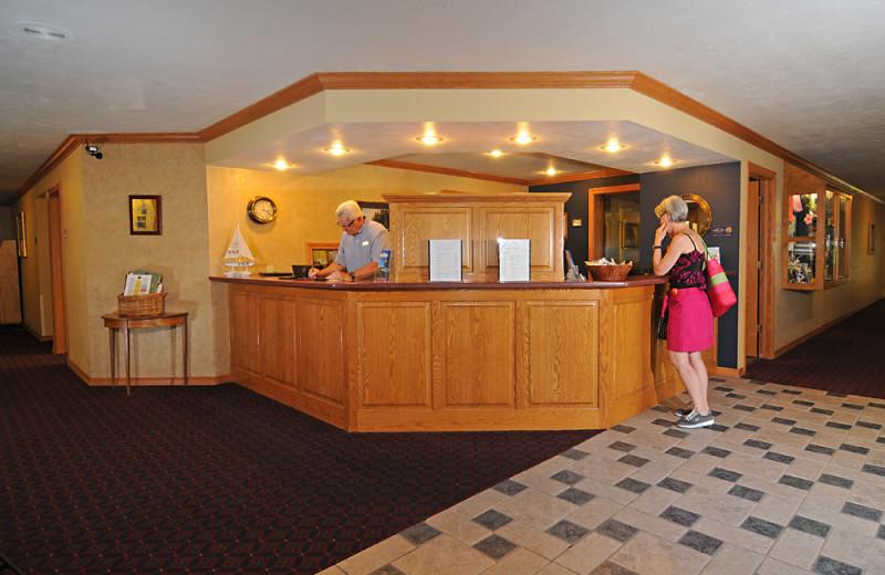 Lobby at Newport Resort.