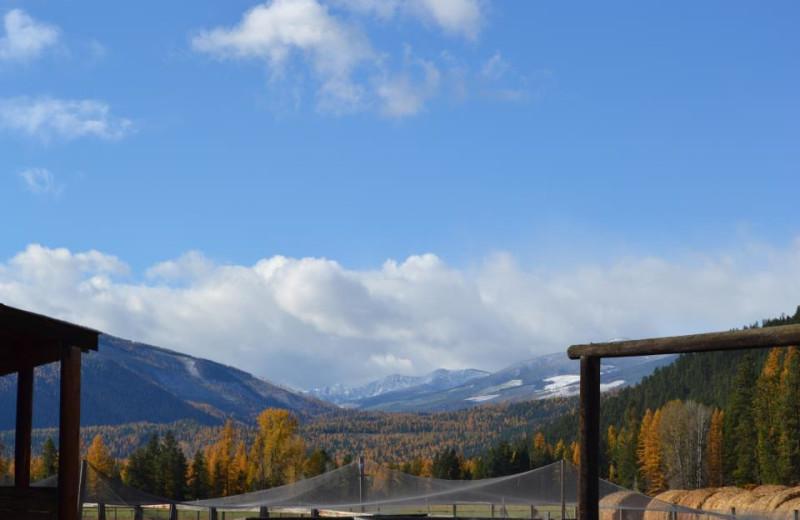 View From the Ranch at Three Bars Ranch