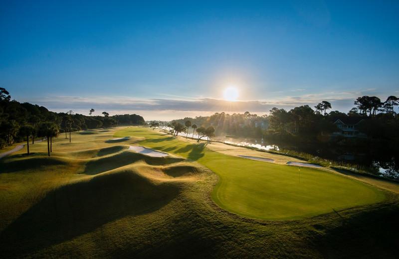 Golf course at Kiawah Island Golf Resort.