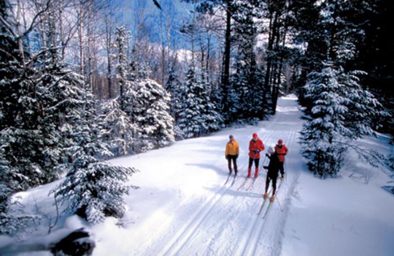 Skiing at Cascade Lodge.