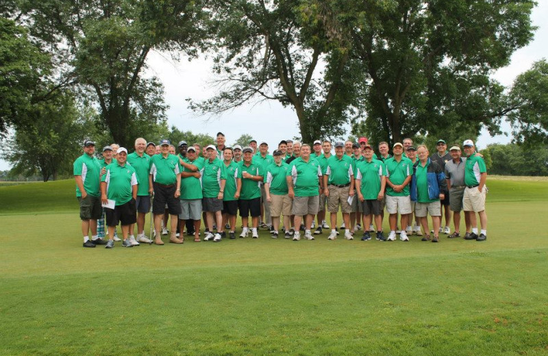 Group at Coachman's Golf Resort.