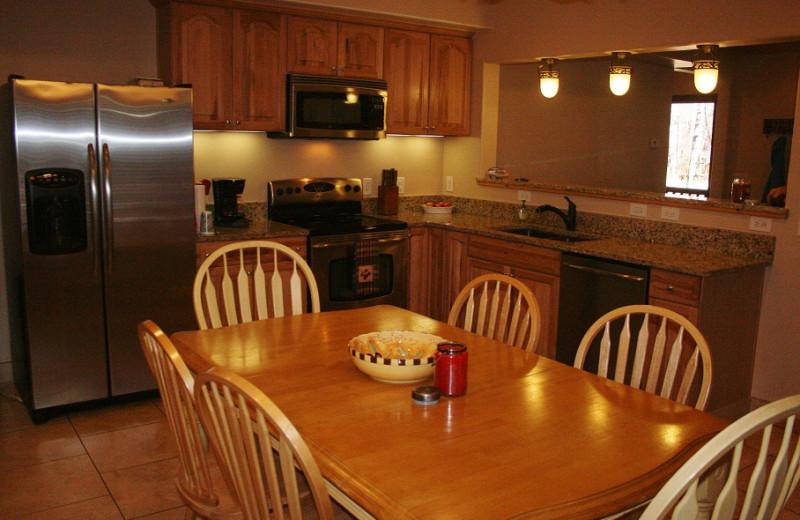 Full Kitchen at Tall Pines Getaway