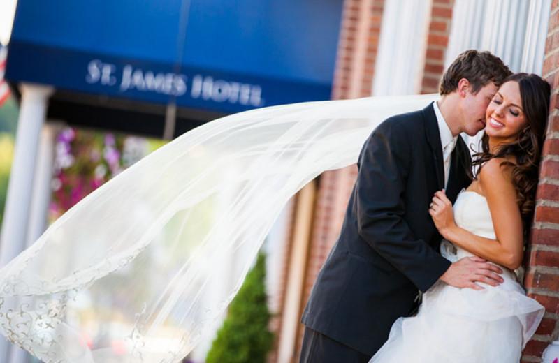 Wedding at St. James Hotel.