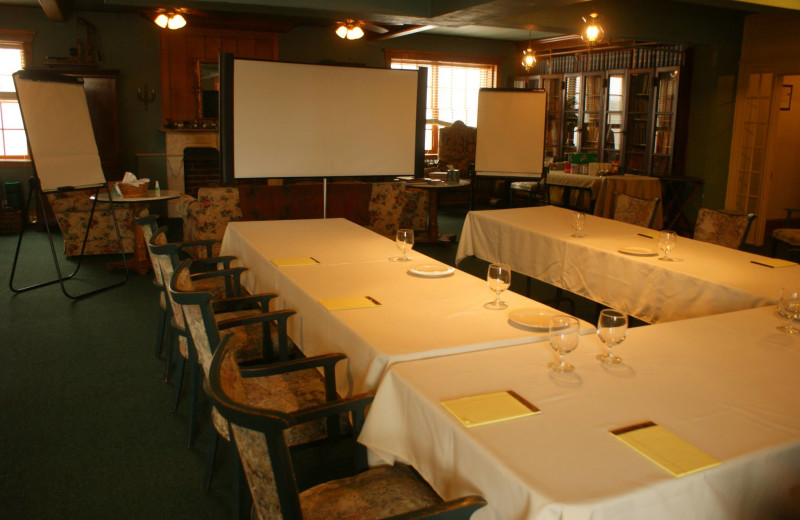 Meetings at The Outing Lodge at Pine Point.
