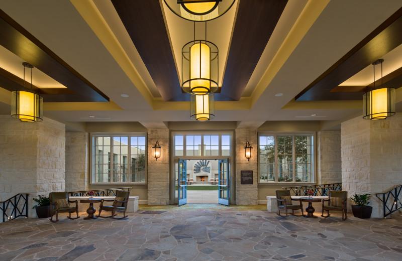 Ballroom at Hyatt Regency Hill Country Resort and Spa.