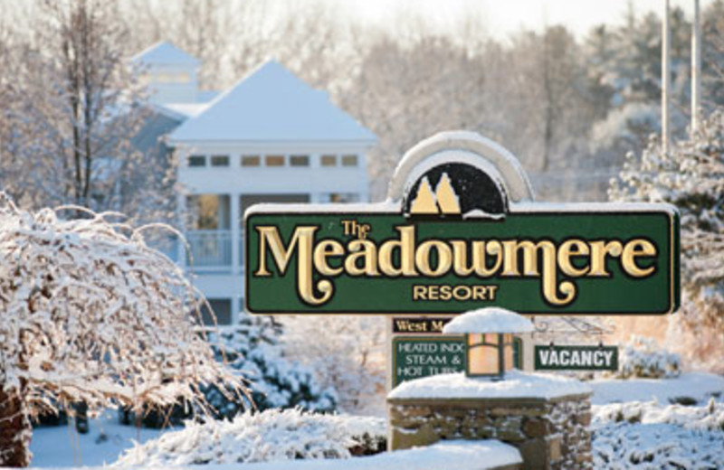 Winter time at The Meadowmere Resort.