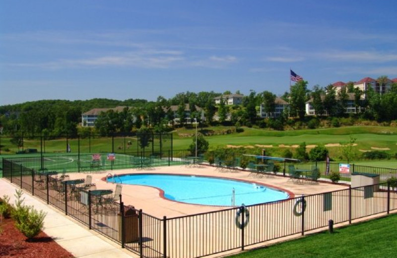 Outdoor pool at Thousand Hills Golf Resort.