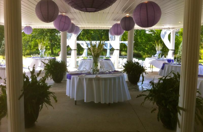 Wedding at The Abbe House Inn.