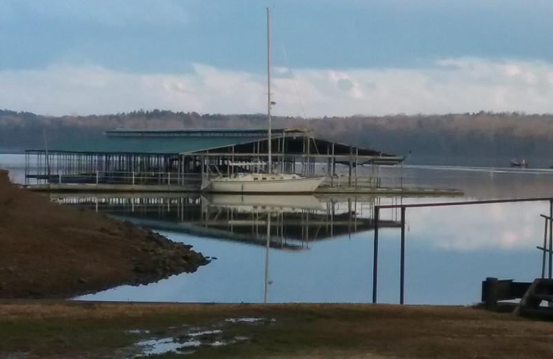 Lake view at Lynnhurst Family Resort.