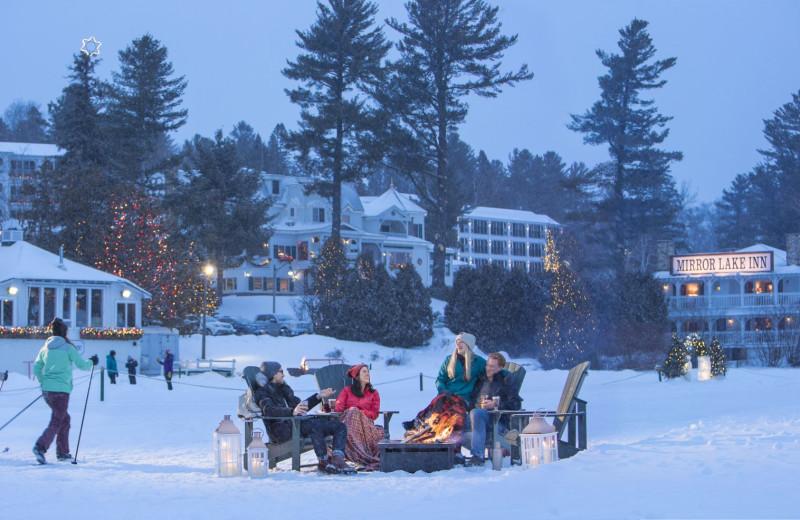 Winter at Mirror Lake Inn Resort