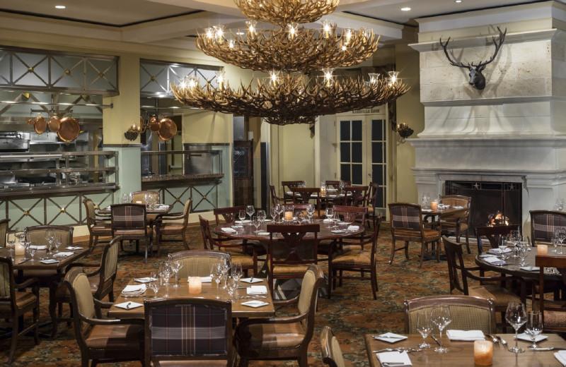 Restaurant at Hyatt Regency Hill Country Resort and Spa.