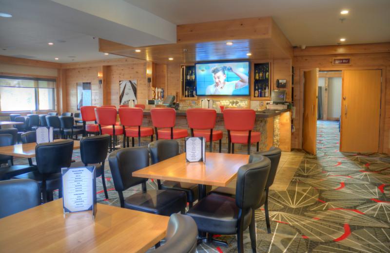 Restaurant at Banff Rocky Mountain Resort.