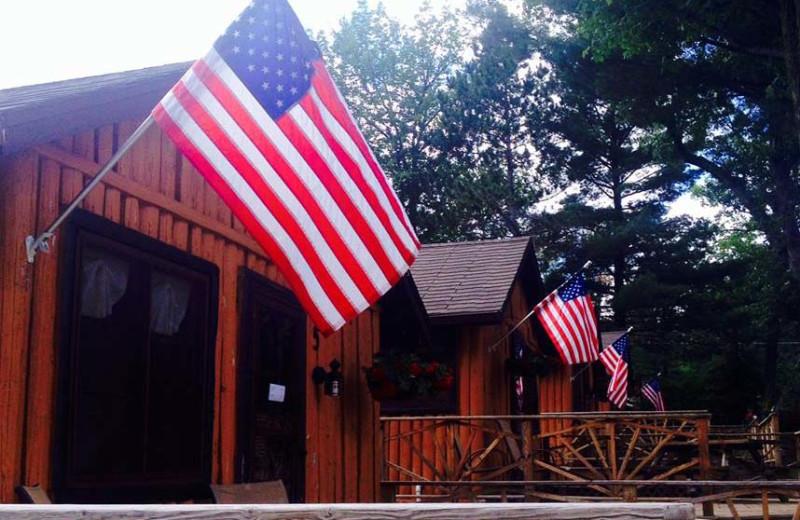 Cabins At Clear Lake Resort.
