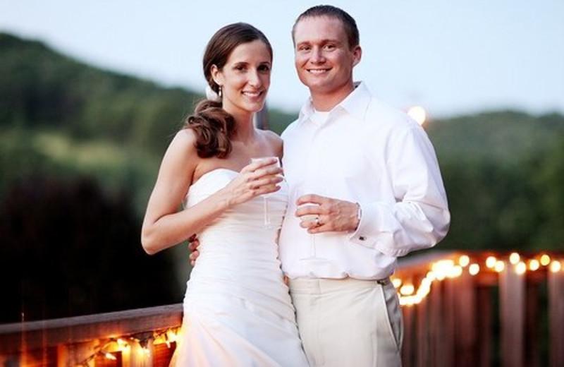 Weddings at Creekside Resort.