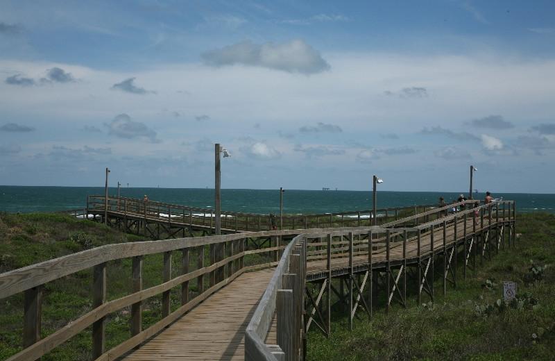 Walkway to Beach near Port Royal Ocean Resort