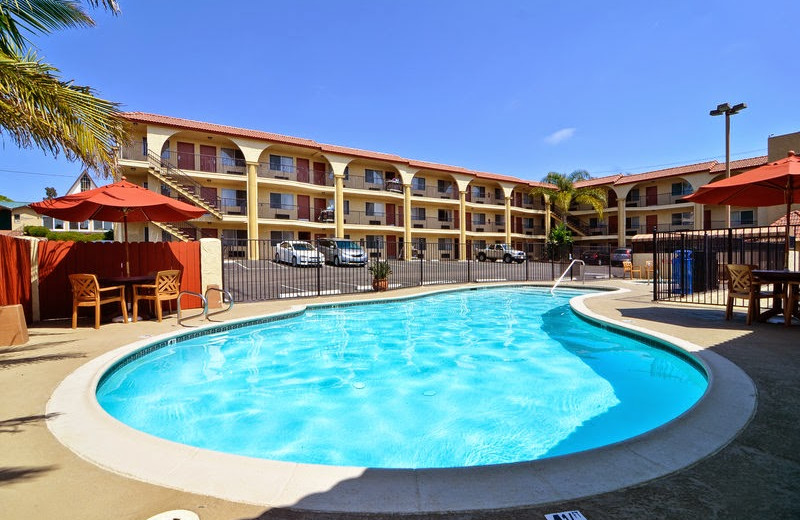 Outdoor pool at Best Western-Mission Bay.