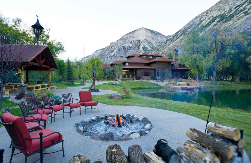 Patio at Branded Rock Canyon.