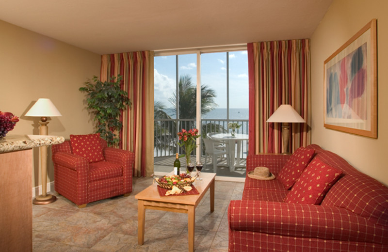 Suite Interior at DiamondHead Beach Resort