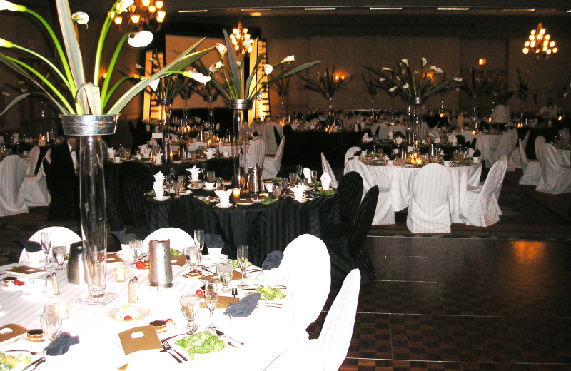 Wedding reception at Arrowwood Resort and Conference Center.