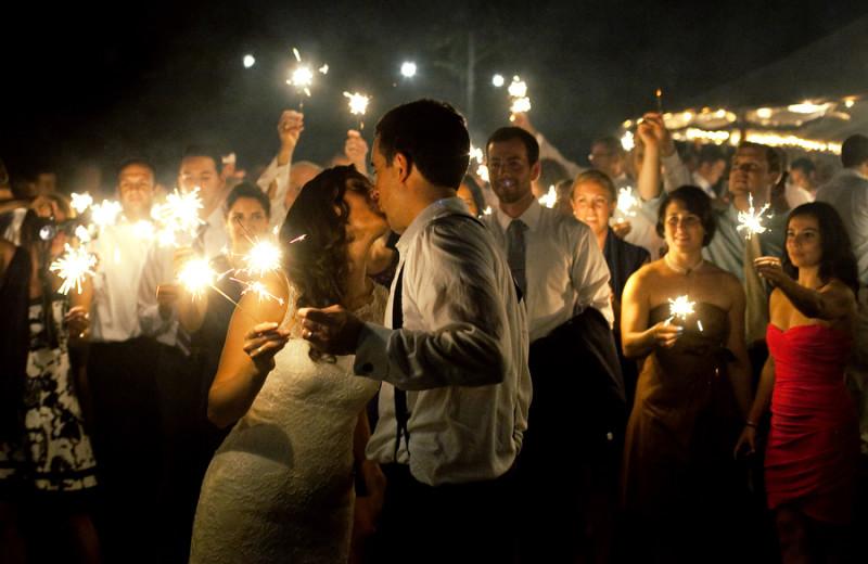 Wedding at Newagen Seaside Inn.