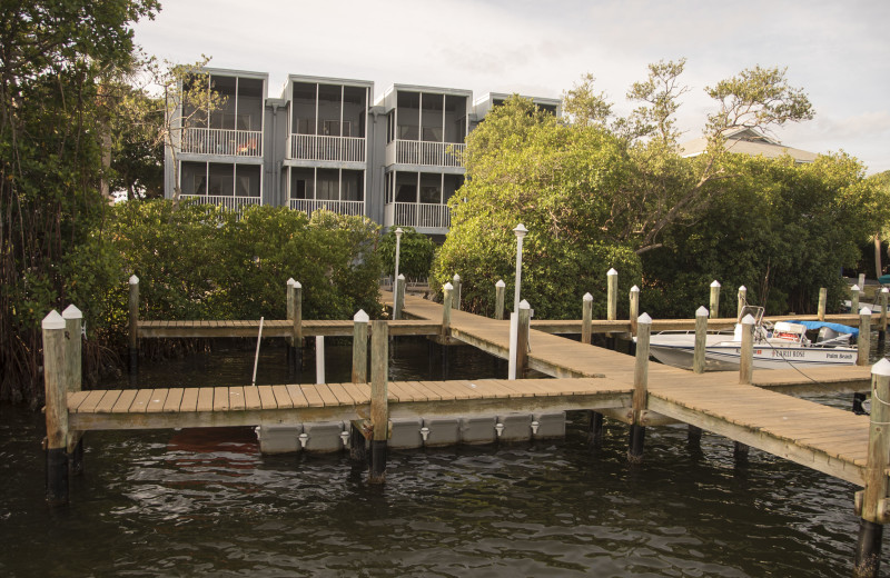 Dock at Englewood Beach & Yacht Club.