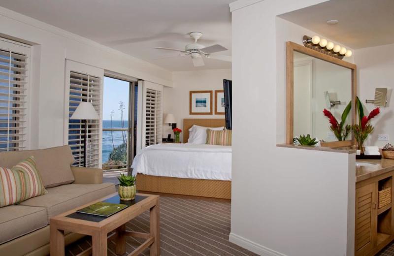 Guest room at Inn at Laguna Beach.