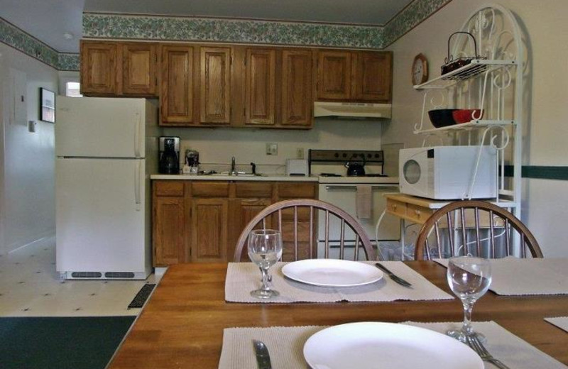 Suite Kitchen at River View Resort