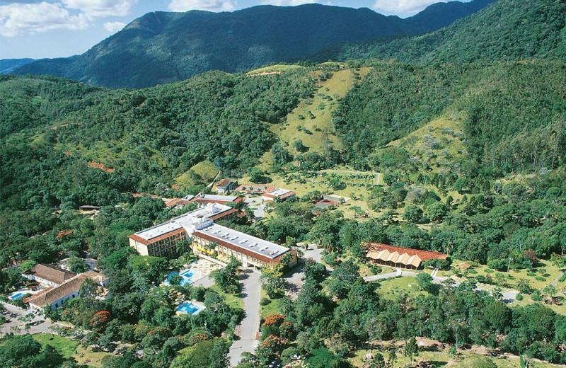 Aerial view of Resort and Spa Plaza Caldas da Imperatriz.