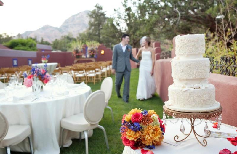 Weddings at Sedona Rouge Hotel.