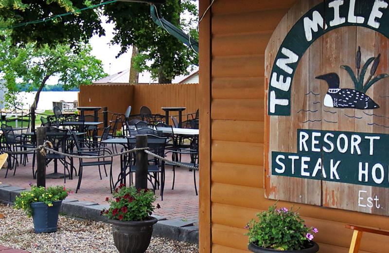 Dining near Bay View Resort.