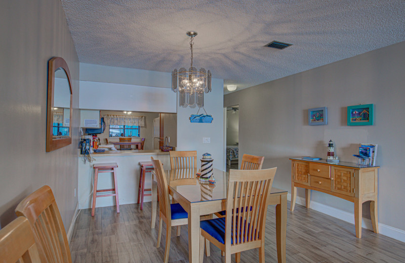 Rental kitchen at Anna Maria Island Beach Rentals, Inc.