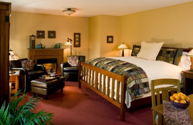 Guest Room at The Settlers Inn