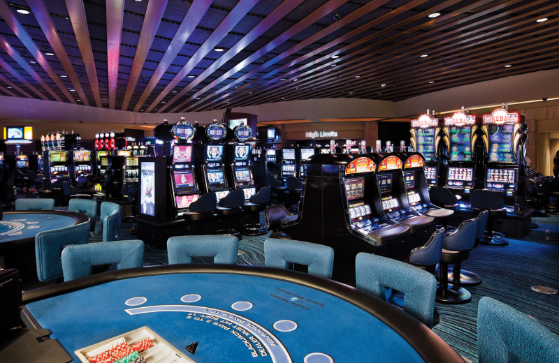Gaming floor and slots at Talking Stick Resort Casino