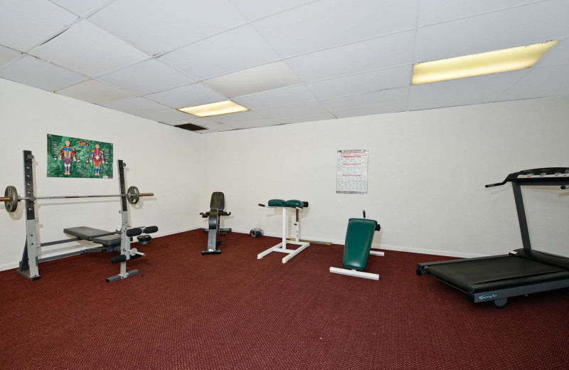 Fitness room at America's Best Value Inn - Benton Harbor.