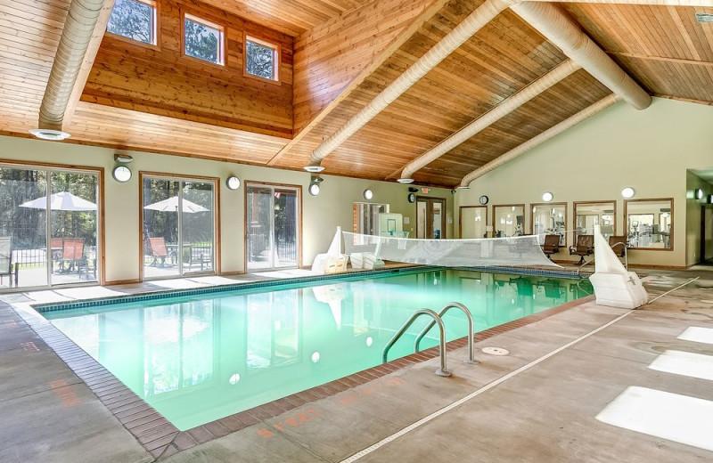 Indoor pool at Wilderness Resort Villas.