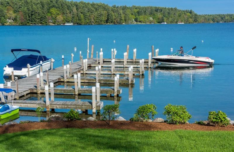 Dock at Center Harbor Inn.