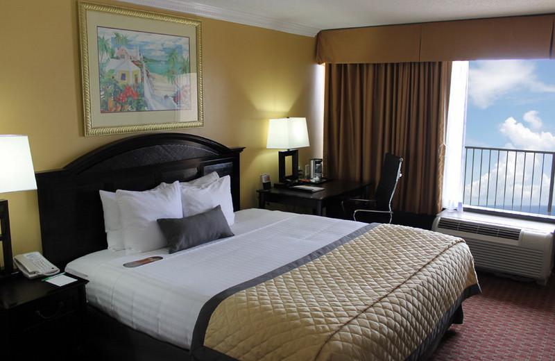 Guest room at Wyndham Garden -Fort Walton Beach.