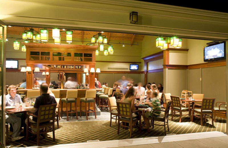 Dining at Ocean Edge Resort & Golf Club.
