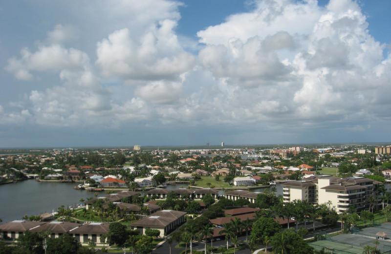 Aerial view of Sunshine Resort Rentals, LLC.
