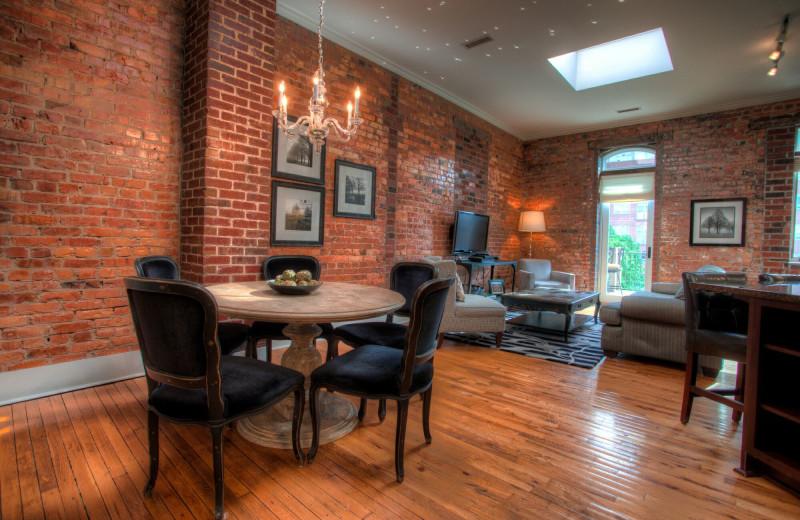 Rental interior at Yonder Luxury Vacation Rentals.