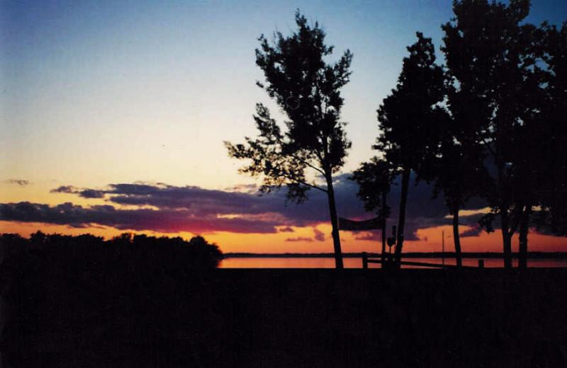 Sunrise at Battle View Resort.