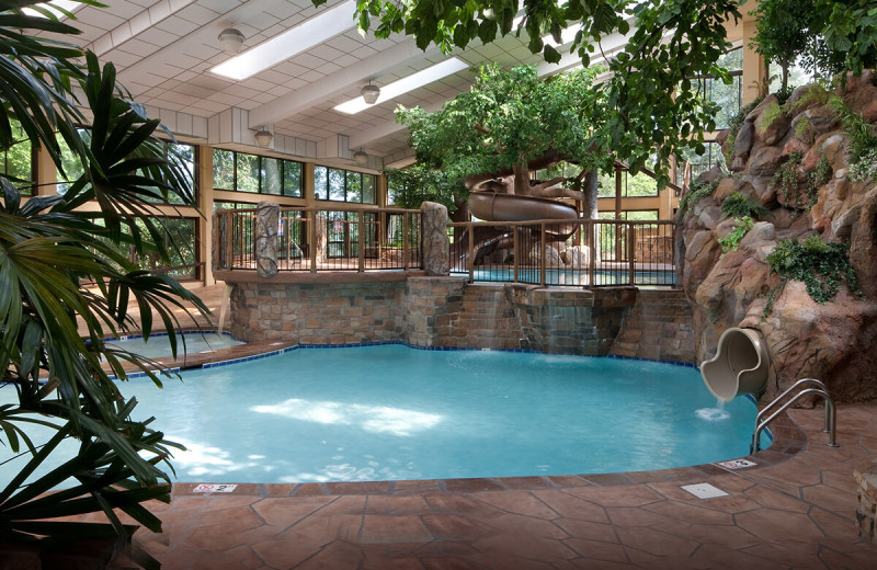 Indoor pool at Park Vista Resort Hotel.