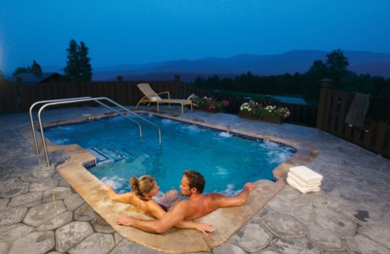 Couple at Trapp Family Lodge.